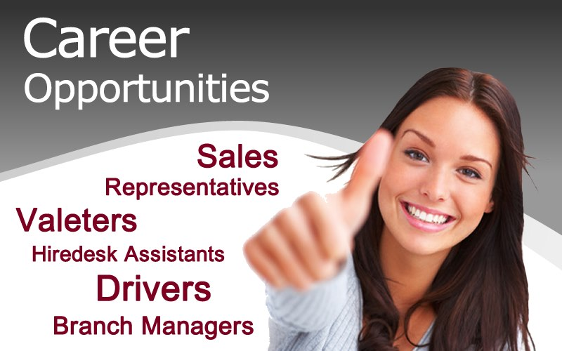 Career Opportunities at Limesquare Vehicle Rental.