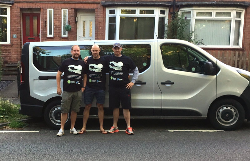 3 Peaks Challenge - Limesquare donates Minibus for Charitable Event